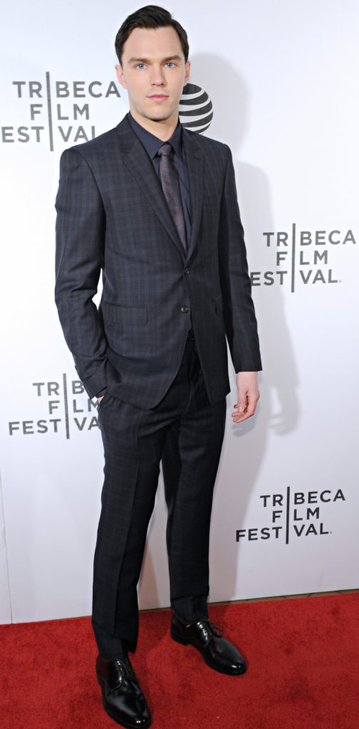 "NEW YORK, NY - APRIL 18: Actor Nicholas Hoult attends ""Equals"" Red Carpet Premiere Night during Tribeca Film Festival at BMCC John Zuccotti Theater on April 18, 2016 in New York City. (Photo by Craig Barritt/Getty Images for AT&T)"