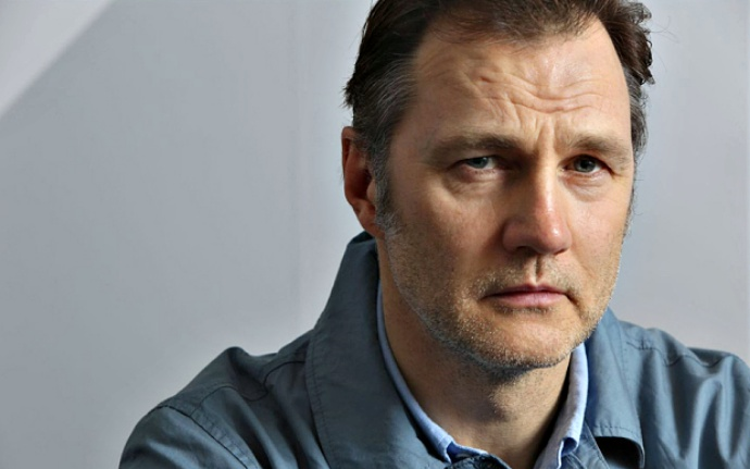 May0053725 Daily Telegraph - ** for features check with Kate Mayger before use** Actor David Morrissey, London WC1 13/03/14